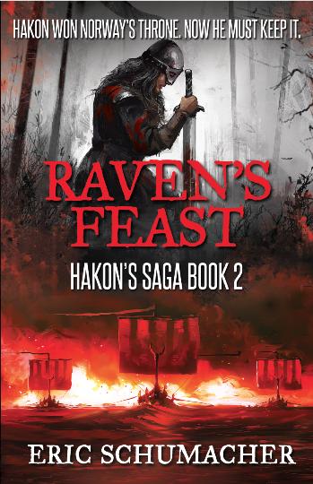 Raven's Feast by Eric Schumacher #RavensFeastBookBlast