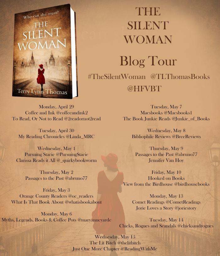 03 The Silent Woman Blog Tour Poster FINAL