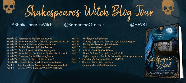Shakespeare's Witch by Samantha Grosser - Bookramblings